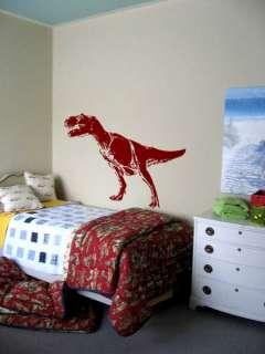 Vinyl Wall Art Decal Sticker Dinosaur T rex 60w x 34h