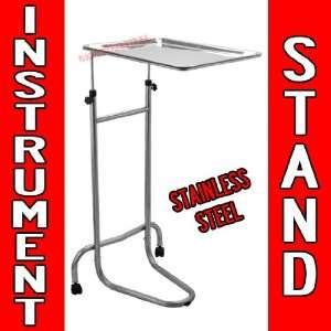 Adjustable Instrument Stand Tattoo Body Piercing STEEL TRAY Equipment