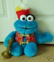 Fisher Price SESAME STREET Trumpet COOKIE MONSTER