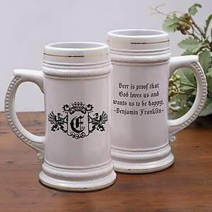 Fathers Day Gifts   Personalized Ceramic Beer Stein