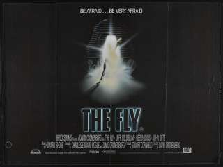 THE FLY 1986 Jeff GOLDBLUM 30X40 HORROR MOVIE POSTER