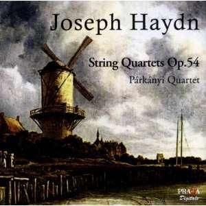 Haydn String Quartets Op.54 Nos.1 3 Parkanyi Quartet, Franz Joseph