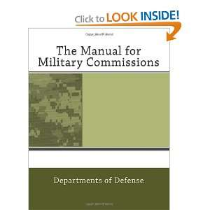 The Manual for Military Commissions (9781468031379