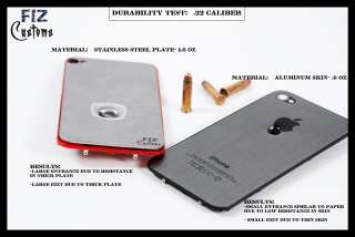 iPhone 4 Stainless Steel back cover housing