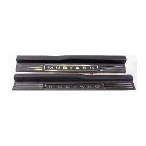 Ford Mustang Door Sill Trim Automotive
