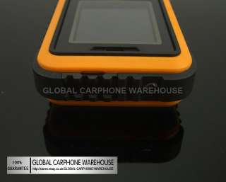 Orange GO BEYOND LAND ROVER IP67 Water Dust Shock PROOF CELL PHONE