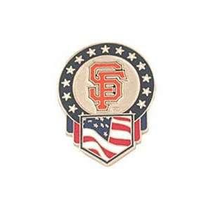 San Francisco Giants Flag Pin by Peter David  Sports