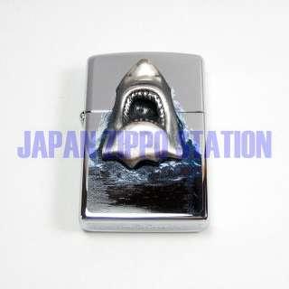 JAPAN 97 RARE MOVIE JAWS 3D SHARK FOSSIL TOOTH ZIPPO