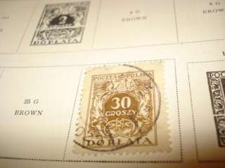 1933 SCOTT INTERNATIONAL JUNIOR VINTAGE STAMP COLLECTION