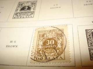 1933 SCOTT INTERNATIONAL JUNIOR VINTAGE STAMP COLLECTION