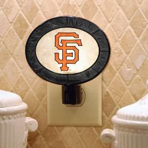 Pack of 3 MLB San Francisco Giants Baseball Stained Glass