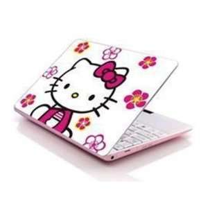 Skin) Fits 13.3 14 15.6   Hello Kitty Flowers Computers