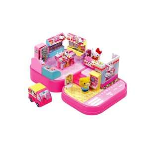 Hello Kitty Mini Town   Convenience Store Playset Toys & Games