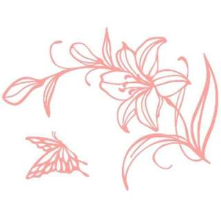 GP 28 LILY FLOWER Graphic Wall Art Decor Decals Sticker