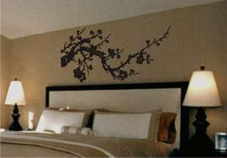 Cherry Blossom Asian   Vinyl Wall Decor Decal Mural Art