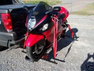Motorcycle carrier rack Sport bike trailer hayabusa
