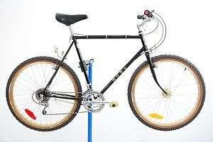 Vintage 1983 Ross Mt Hood Hi Tech Mountain Bike 23 Bicycle Black Gold