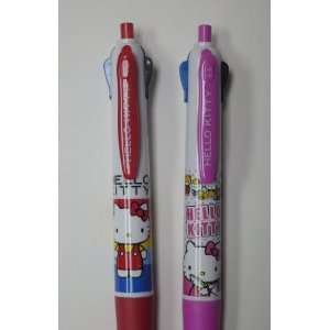 Hello Kitty Multi color Retractable Rollerball Pens