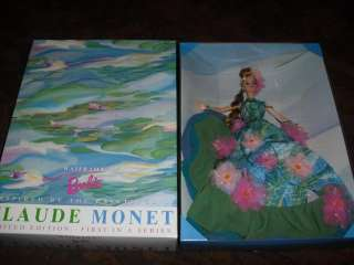 1997 Water Lily Barbie Doll Limited Edition First in Series Claude