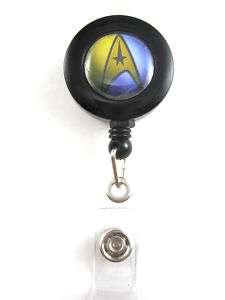 STAR TREK Retractable Badge Holder