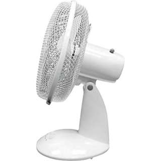 TPI Oscillating Desk Fan 12 Dia.