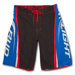 Bud Light Side Logo Blue Black Mens Swim Trunks Board Shorts