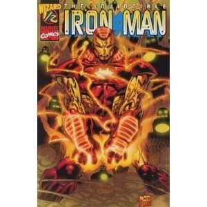 Iron Man Vol.3 #1/2 Wizard Exclusive Ordered Through #100
