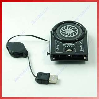 New Mini Vacuum USB Case Cooler Cooling Fan Idea FYD 738 For Notebook