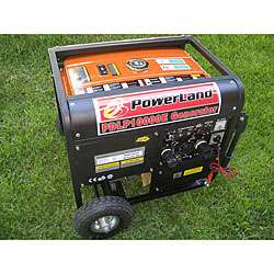 Dual Fuel (Gas and LPG) 10000 W 16 HP / Electric Start Generator