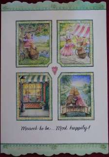 Susan Wheeler Holly Pond Hill Bunnies Anniversary Card
