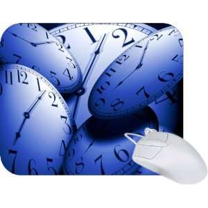 Rikki Knight Clock Faces Designs Mouse Pad Mousepad