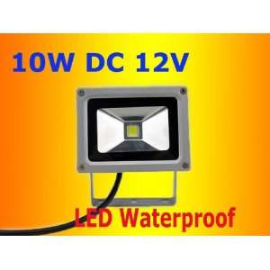 NEW 10W Led 12V Cool White Waterproof Outdoor LED Flood Light Lamp