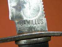 US Vietnam Era CAMILLUS Jet Pilot Survival Fighting Knife