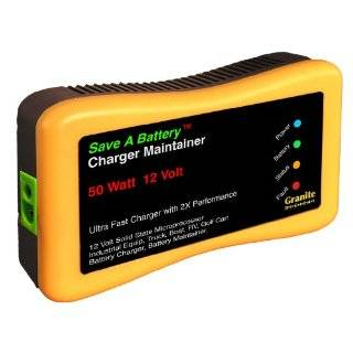 Save A Battery 1295 12 Volt Battery Alarm Monitor with Load Tester and