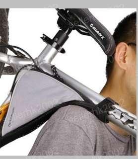 Cycling Bicycle Bike tube triangular Frame Bag Quick Release