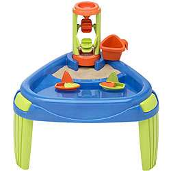 American Plastic Toy Sand and Water Wheel Play Table  Overstock