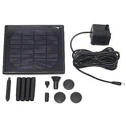 Small Capacity Solar powered Water Pump System
