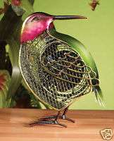 Deco Breeze Humming Bird Figurine Electric Table Fan