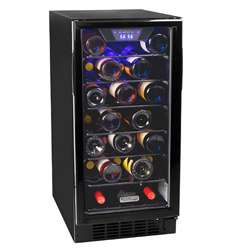 Koldfront 30 Bottle Built In Single Zone Wine Cooler