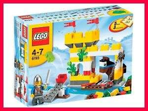New LEGO Creator CASTLE BUILDING SET #6193 Minifigure