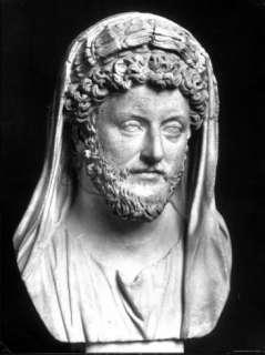 Bust of Marcus Aurelius, Roman Emperor Premium Photographic Print at
