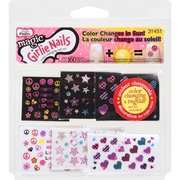 Little Fingrs Girlie Nails Magic Color Changing Nail Art, 1 P