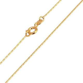 18K Yellow Gold Filled Womens Necklace 19.6 Snake Chains N036