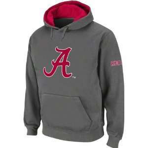 Alabama Crimson Tide Big Logo Tackle Twill Hooded