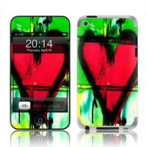 Apple iPod Touch 4G  GRAFFITI HEART  Complete protection