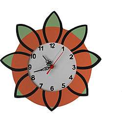 Extreme Flower Wall Clock
