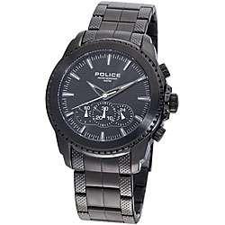 Police Mens Chronograph Black Tazer Watch