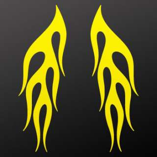 Decal Sticker Flames For Cars & Helmets KR5W8