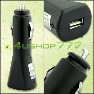 USB Car Charger Adapter For iPod Nano Mini Video Touch