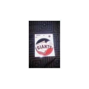 San Francisco Giants Ultra decal car/truck window 5x 6